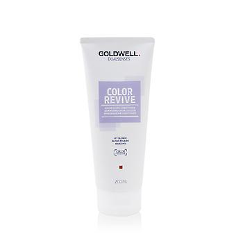 Dual senses color revive color giving conditioner # icy blonde 253464 200ml/6.7oz