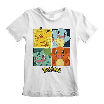 Pokemon Childrens/Kids Squares T-Shirt
