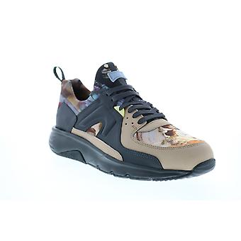 Camper Drift  Mens Beige Leather Lace Up Euro Sneakers Shoes