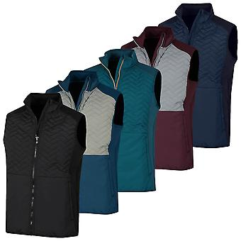 Proquip Mens Gust Therma Windproof Light Stretch Quilted Thermal Gilet