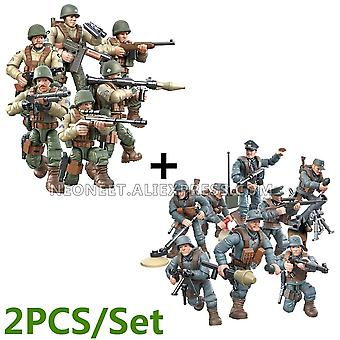 1:35 Scale World War Military Battle Of Rhineland Army Action Figures W-2,