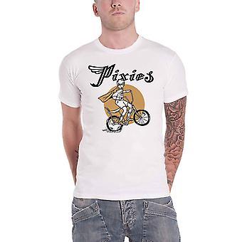 Pixies T Shirt Tony new Band Logo Official Mens White