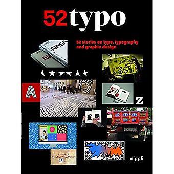 52 Typo: 52 historie na temat typu, typografii i projektowania graficznego