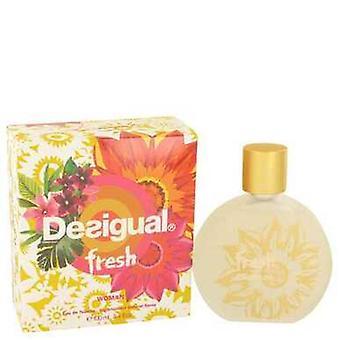 Desigual Fresh Av Desigual Eau De Toilette Spray 3,4 Oz (kvinnor) V728-533928