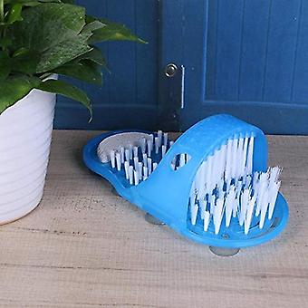 Sandales brush scrubber pied