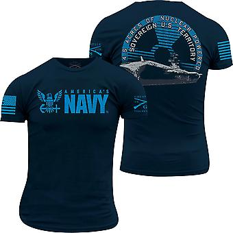 Grunt Style USN - 4.5 Acres of Diplomacy T-Shirt - Navy