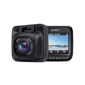 Aukey dash cam full hd 1080p dash camera for cars with supercapacitor and 6-lane 170 degrees wide an