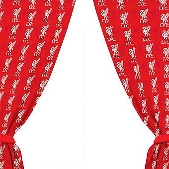 Liverpool FC Crest Pattern Curtains