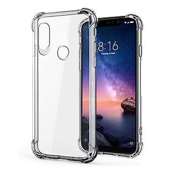 Stuff Certified® Xiaomi Redmi Note 6 Pro Transparent Bumper Case - Clear Case Cover Silicone TPU Anti-Shock