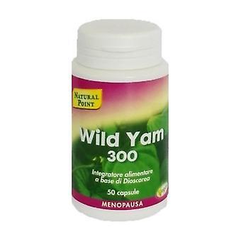 Wild Yam 300 50 capsules of 300mg