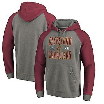 Cleveland Cavaliers Loose Pullover Hoodie Sweatshirt WY126