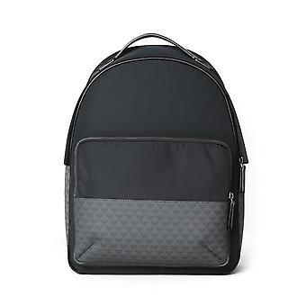 Emporio Armani Black Nylon Backpack