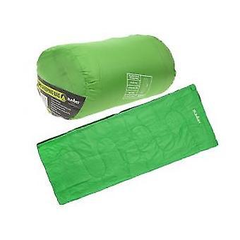 Summit Envelope Green Therma Sleeping Bag 250gsm