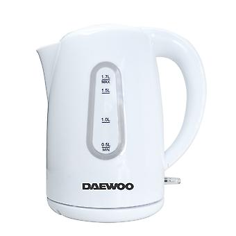 Daewoo: BPA-fri trådløs kedel lavet af plast