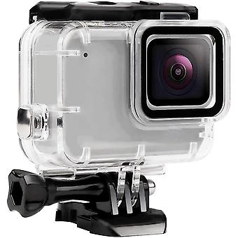 Waterproof Housing Shell for GoPro Hero 7 White/Silver,Diving Protective Case