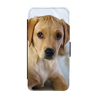 Labrador Valp iPhone 12 Mini Plånboksfodral