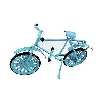 Nukkekoti Miniatyyri puutarha lisävaruste 1:16 Tai Lapset 1:12 Sininen Polkupyörä Polkupyörä