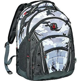 "Wenger Synergy 16"" Backpack Shock Absorbing Shoulder Straps Arctic Camo 26 Litre"