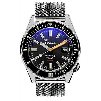 Squale MATICXSA.ME22 600 Meter Swiss Automatic Dive Wristwatch Mesh