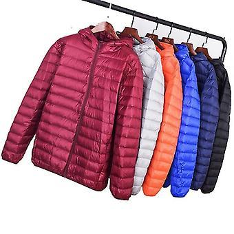Men Winter Coat Top Quality Men's Ultra Light Down Jacket 90% White Duck Down