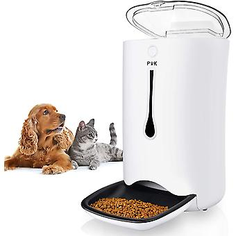 PUPPY KITTY 7L Automatic Pet Feeder for Cats & Dogs, Up to 4 Meals a Day