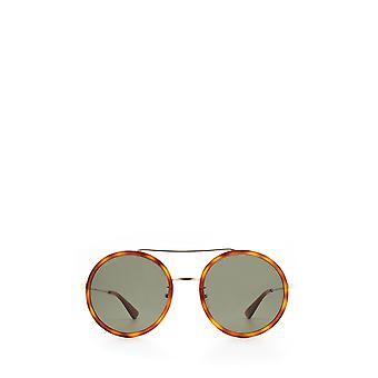 Gucci GG0061S gold unisex sunglasses