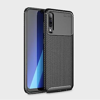 Google Pixel 3 Carbon Fiber Case Cover - Schwarz