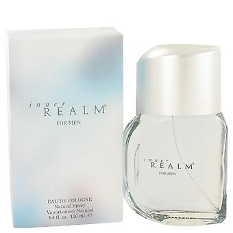 Inner Realm by Erox Eau De Cologne Spray (New Packaging) 3.4 oz / 100 ml (Men)