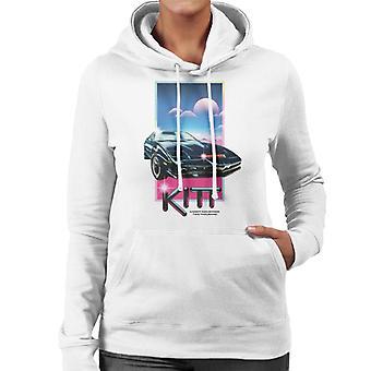 Knight Rider Knight Industries Two Thousand Women's Hooded Sweatshirt