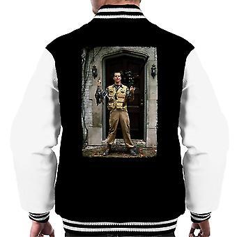 Weird Science Chet Donnelly Rifle Män's Varsity Jacket