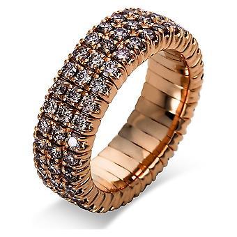 Luna Creation Classic Ring Pavé 1N663R854-4 - Largura do anel: 54