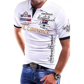 Polo Shirt, Men Casual Slim Fit Short Sleeve, Clothing Mens Summer Cotton
