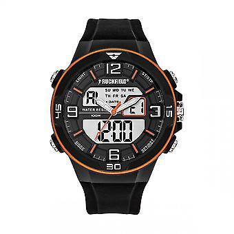 Ruckfield Watch 685060 - Ana-digital Silicone Black Men Multifunction
