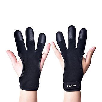 Three-finger breathable shooting gloves B20