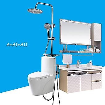Sanitary Ware Modern Simple Whole Bathroom Cabinet Combination Sanitary Ware