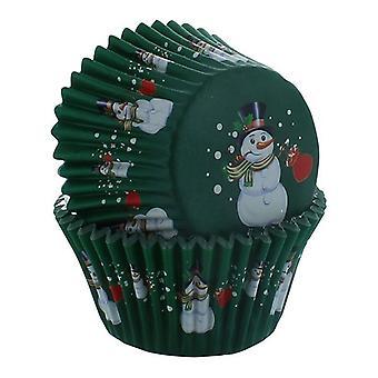 PME - Caja de hornear Snowman - 30 piezas