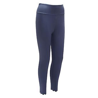 Blossom Moody Sininen kampasimpukka jalka 7/8 Jooga leggingsit