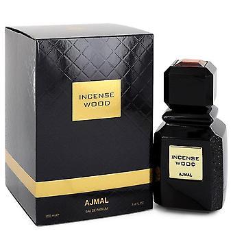 Ajmal Incense Wood Eau De Parfum Spray (Unisex) par Ajmal 3.4 oz Eau De Parfum Spray