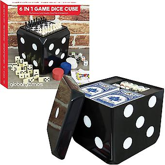 Great Gizmos 6 in 1 Game Dice Cube Set