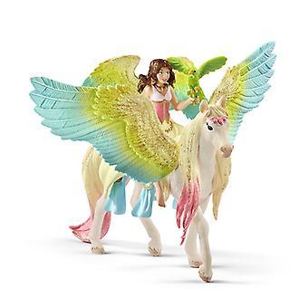 Fairy Surah with Glitter Pegasus USA import