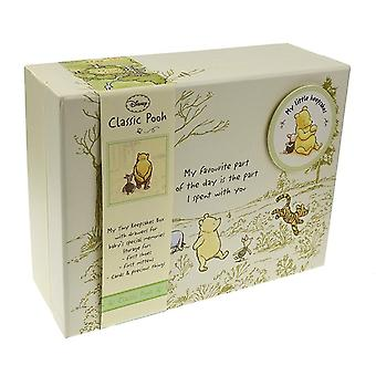 Disney classic winnie the pooh heritage keepsake box with compartments