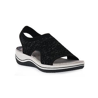 Jana 001 black shoes
