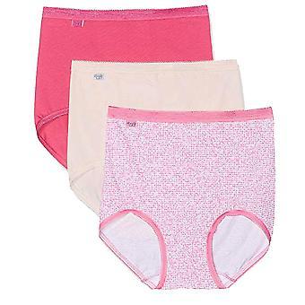 Sloggi Basic 3 Pack Maxi Brief, Pinks, Size 14