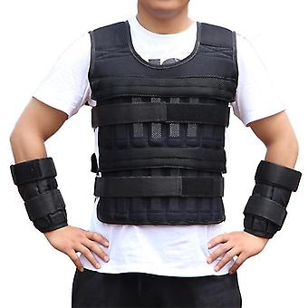 Adjustable Weighted Vest Loading, Weights Waistcoat For Boxing Training