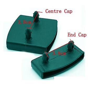 Plastikowa kwadratowa wymiana sofy listwa centralna czapki, guma wewnętrzna