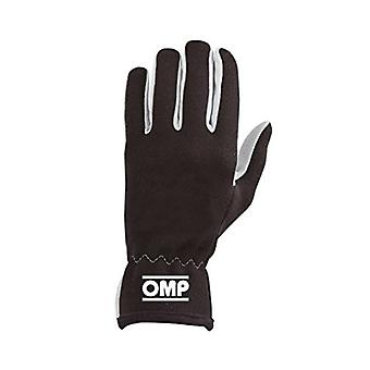 Men's Driving Gloves OMP Rally Black (Size L)