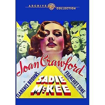 Importer des USA [DVD] Sadie McKee (1934)