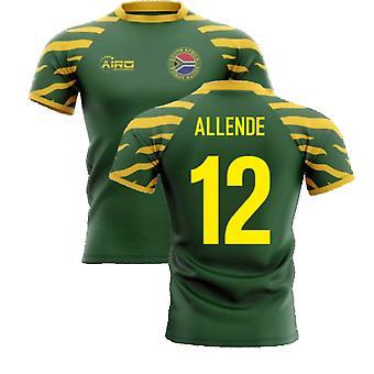 2020-2021 Südafrika Springboks Home Concept Rugby Shirt (Allende 12)