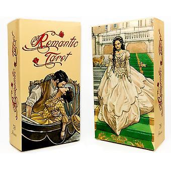 Klasyczne karty tarota Romatic Rider Waite Tarot dla początkujących gry karcianej