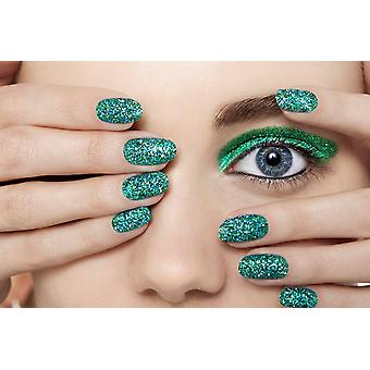 Nails Inc. Bling It On Emerald Collection - 10ml, Green